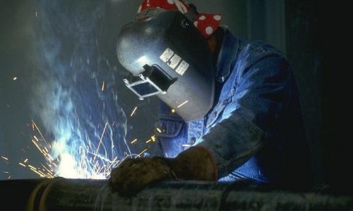 Соединение заготовок из стали