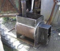 металлическая печка для бани своими руками