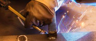 ручная дуговая сварка сталей